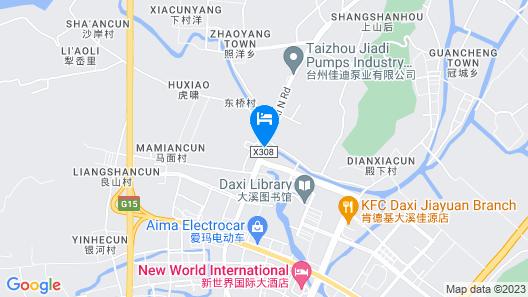Jinjiang Inn Wenling Daxi Map