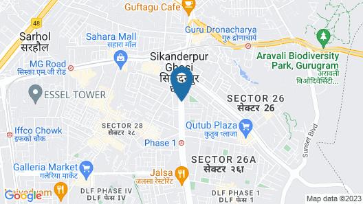 FabHotel Tavishk Map