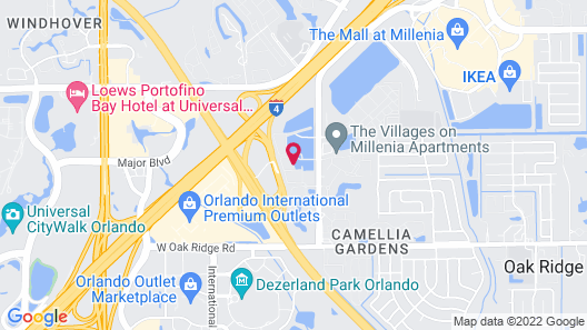 NUOVO - Universal Studios Area Map
