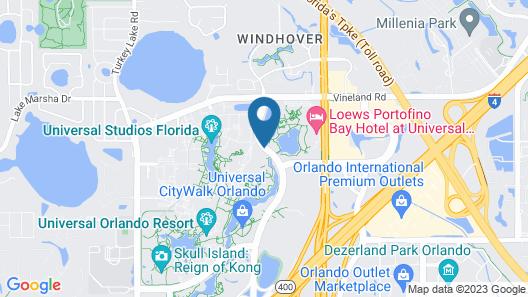 Universal's Hard Rock Hotel ® Map