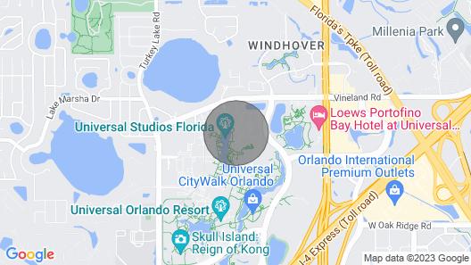 Adventure Awaitsking and Queenuniversal Orlandofree Parking Map