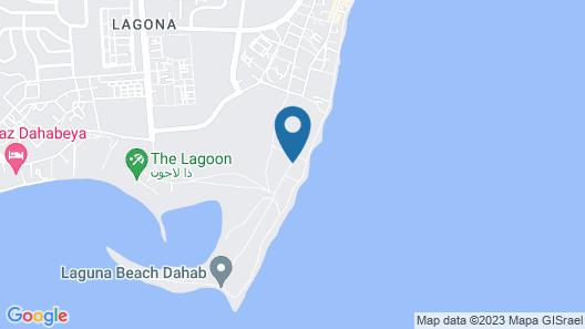 Lagona Village Hotel - Dahab Map