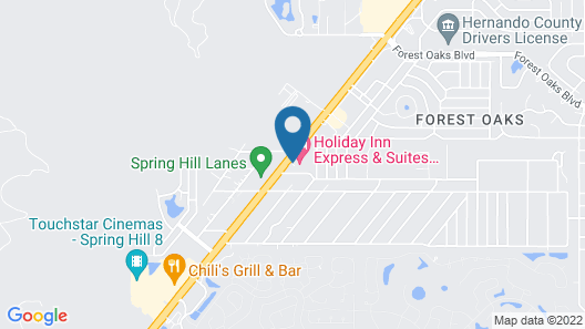 Holiday Inn Express Hotel & Suites Spring Hill, an IHG Hotel Map