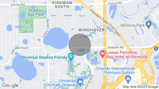 6183 Sandcrest · Walk TO Universal! Near Disney, Convention Map