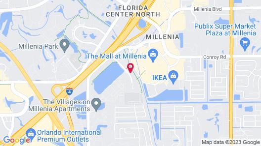 Residence Inn by Marriott Orlando at Millenia Map