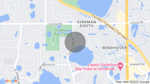 House 3 Mins to Universal,intl Drive Map