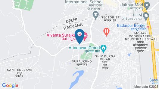 Vivanta Surajkund, NCR Map