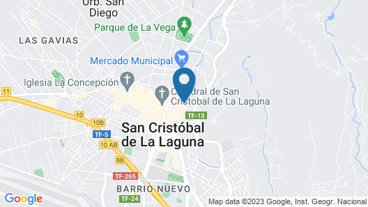 La Laguna Gran Hotel Map
