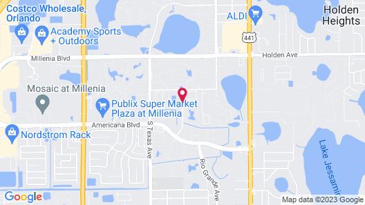 Club Orlando Map