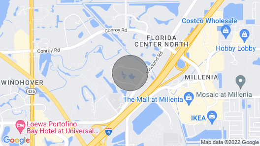 Great Location. Close to I-4, M, Drive and all Mayor Restaurants in the Area Map