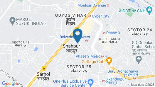 Hotel Anandam Map