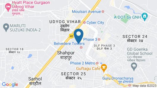 Maxfort Cyber City Map