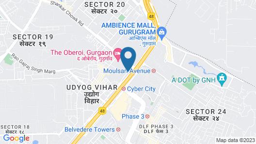 Trident, Gurgaon Map