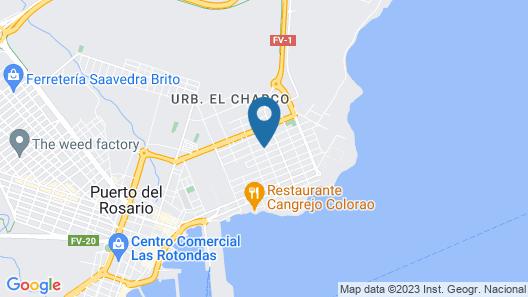 Maravilloso Piso Puerto Del Rosario Wifi Satelite Map