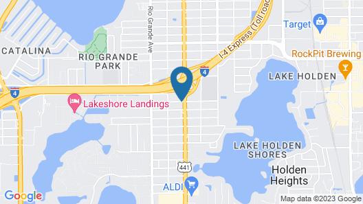 Days Inn by Wyndham Orlando Downtown Map