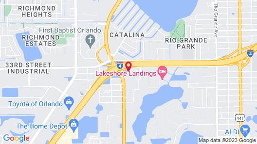 Days Inn by Wyndham Orlando Near Millenia Mall Map