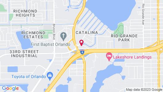 Top Secret Resort Map
