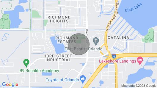 Orlando Modern Spacious Home Near Universal Map