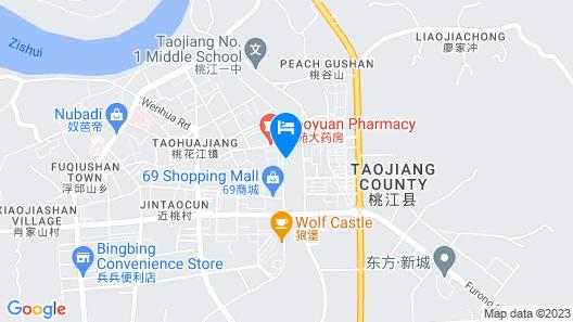 Ramada Yiyang Taojiang Map