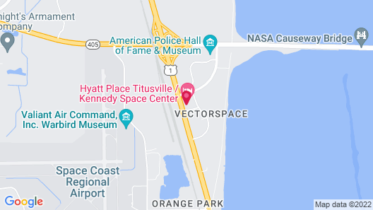Hyatt Place Titusville / Kennedy Space Center Map