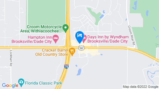 Holiday Inn Express Hotel & Suites Brooksville Map