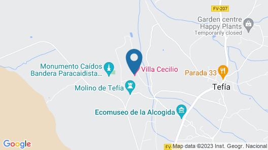 Villa Cecilio Map
