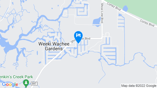 Escape to Weeki Wachee Map