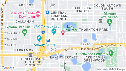 Embassy Suites Orlando - Downtown Map