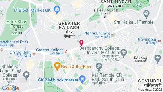 Rockland Hotel - C R Park Map