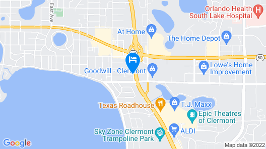 Holiday Inn Express Clermont, an IHG Hotel Map