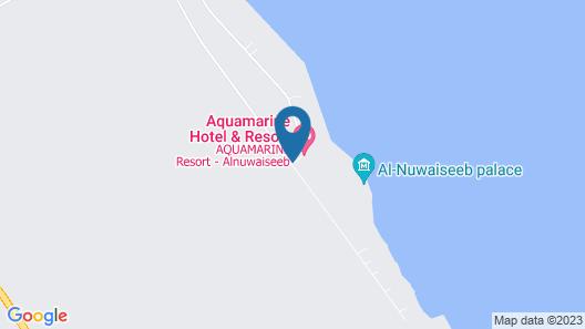 Aquamarine Kuwait Resort Map