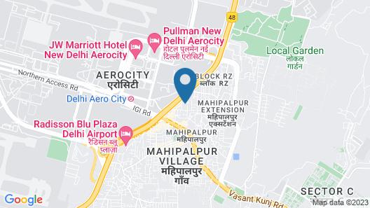 Super 51 Hotel Map