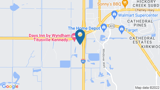 Extended Stay America - Titusville - Space Center Map