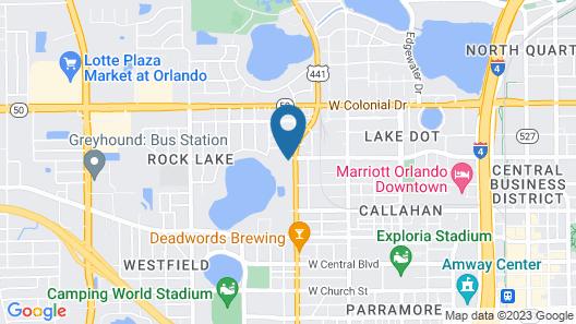 The Gardens Resort Map