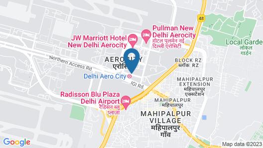 Pride Plaza Hotel Aerocity New Delhi Map