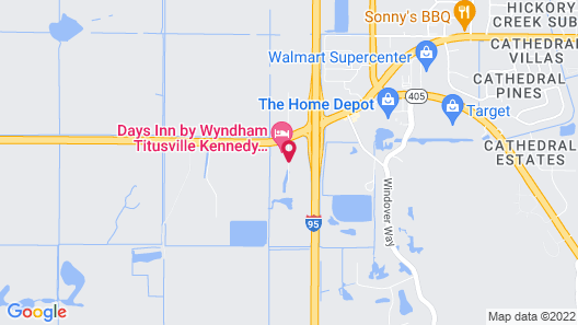 TownePlace Suites by Marriott Titusville Kennedy Space Center Map
