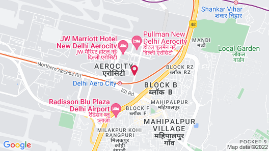 Holiday Inn New Delhi International Airport, an IHG Hotel Map