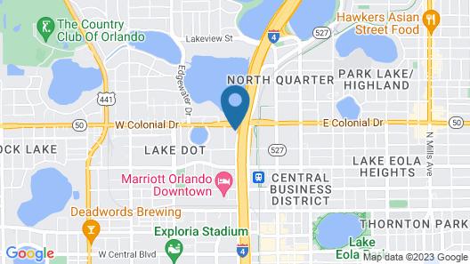 Crowne Plaza Orlando - Downtown, an IHG Hotel Map