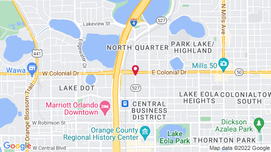 Residence Inn by Marriott Orlando Downtown Map