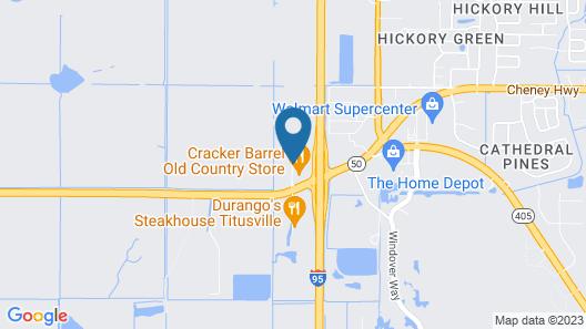 Fairfield by Marriott Titusville Kennedy Space Center Map