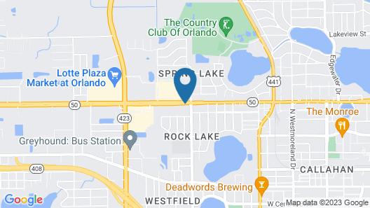 Best Western Orlando West Map