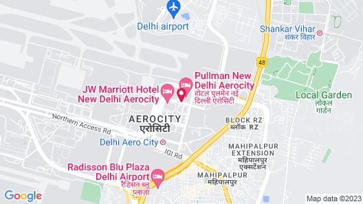 Novotel New Delhi Aerocity Hotel Map