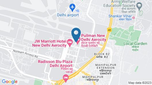 Pullman New Delhi Aerocity Hotel Map