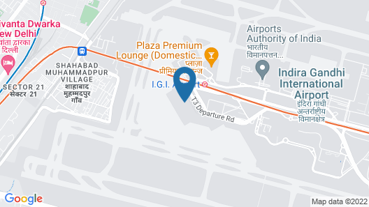 Holiday Inn Express New Delhi International Airport T3 Map