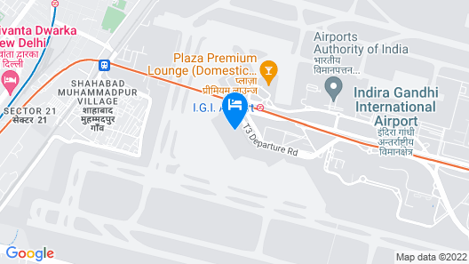 Holiday Inn Express New Delhi International Airport T3 Map