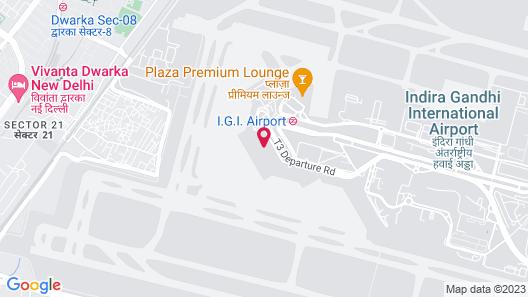 Holiday Inn Express New Delhi International Airport T3, an IHG Hotel Map