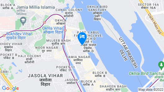 Hotel River view Map