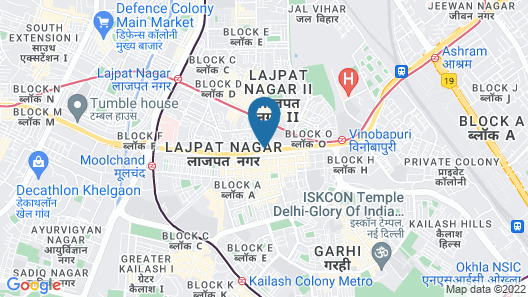 Hari's Court, Lajpat Nagar Map