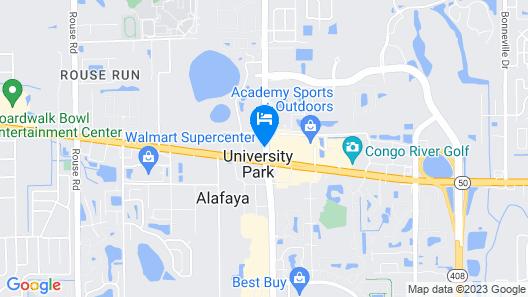Holiday Inn Orlando East - UCF Area Map