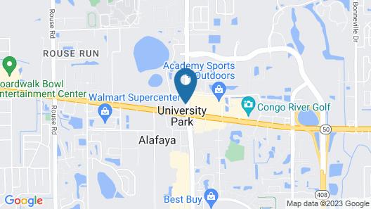 Holiday Inn Orlando East - UCF Area, an IHG Hotel Map